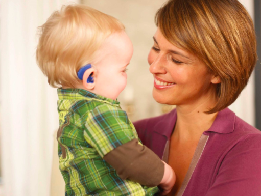 hearing aids for a baby